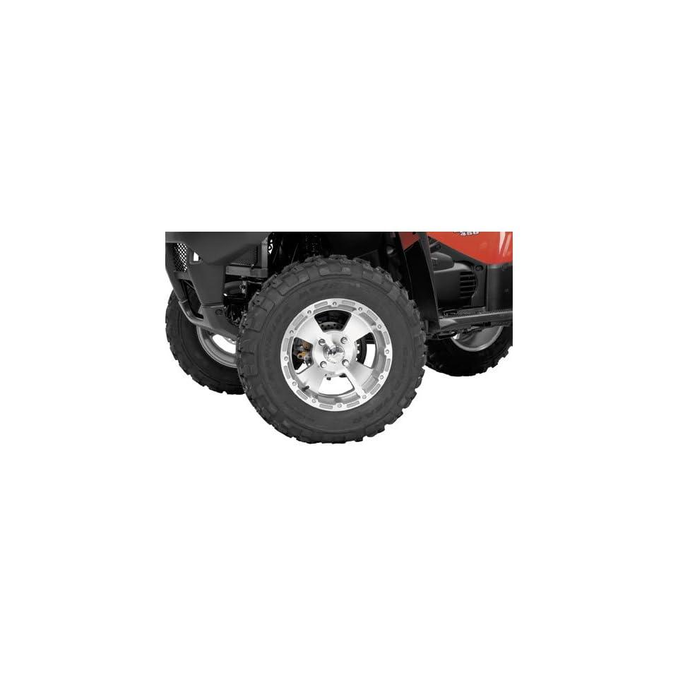 Vision Wheel Machined 161 Bruiser Wheel Rear, 12x7, 4+3 Offset 161 128137M2