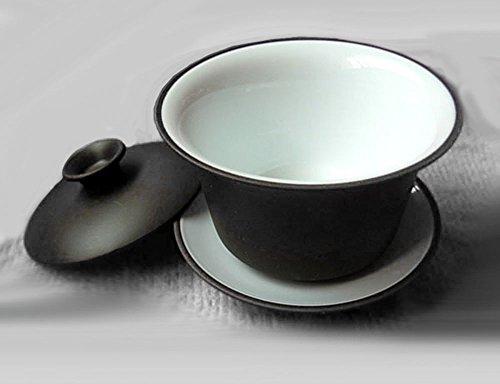 Yixing Teacup 5oz/150ml Kungfu Tea Bowl Classic Gaiwan Cup by YIXING (Image #1)