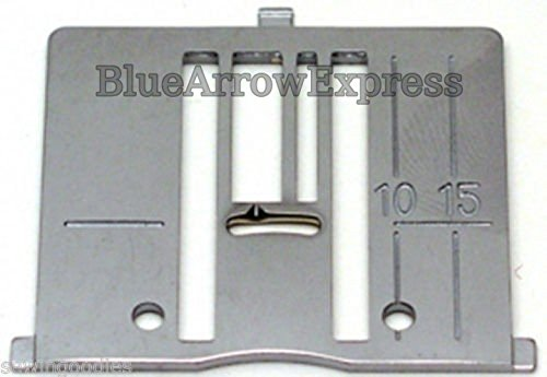 (Ship from USA) Husqvarna Viking Zig Zag Needle Plate for Designer 1, 2 and 770 Sewing Machines (1 Zig Zag Sewing Machine)
