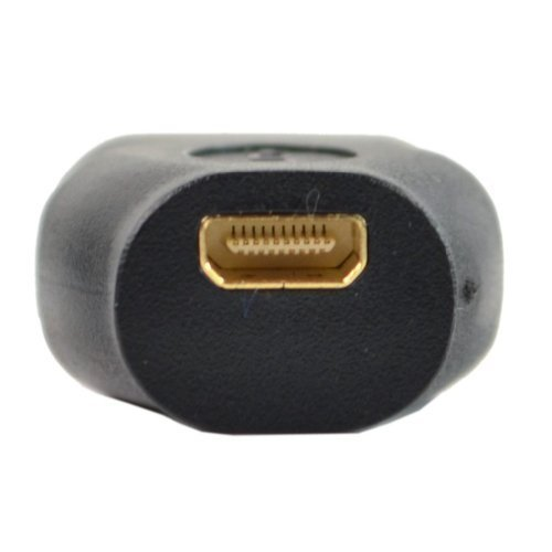 New Gold Plated Micro HDMI Female to HDMI Male Converter Adapter