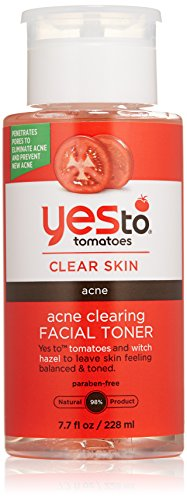 Yes to Tomatoes Acne Clearing Facial Toner, 7.7 Ounce Acne Clearing Astringent