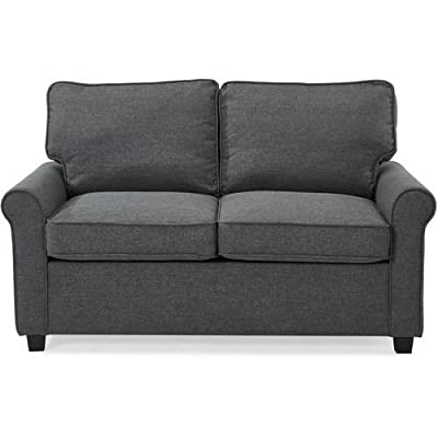Amazon Com Divano Roma Furniture Velvet Scroll Arm Tufted