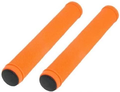 Track Bike Grips Velo 175mm Kraton Rubber White with Plugs
