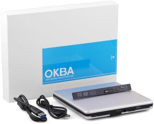 OKEBA USB 3.0 caja externa para portátil unidad óptica grabadora ...