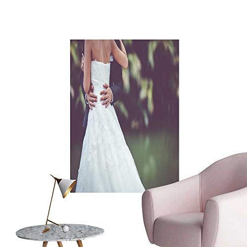 SeptSonne Wall Decals wed Dress wed Gown Environmental Protection Vinyl,24