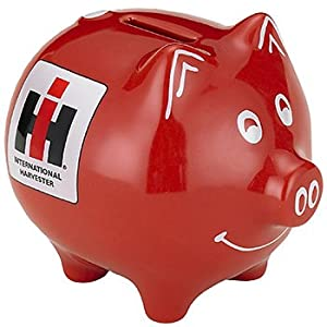 Amazon.com: Case IH Red Piggy Bank: Toys & Games