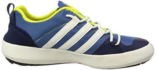 adidas Terrex Cc Boat, Zapatos de Low Rise Senderismo Unisex Adulto, Azul (Core Blue/Chalk White/Bright Yellow), 36 EU