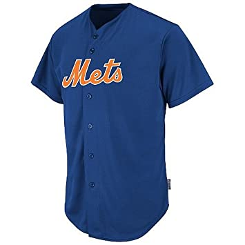 best authentic 6f255 fa03b Amazon.com : New York Mets Custom or Blank Back Full Button ...