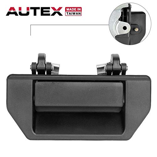 AUTEX 1pc Tailgate Handle Liftgate Truck Rear Hatch Door Handle Compatible with Nissan Frontier 1998-2000 Replacement for Nissan D21 1986-1997 77057, 9060601G01