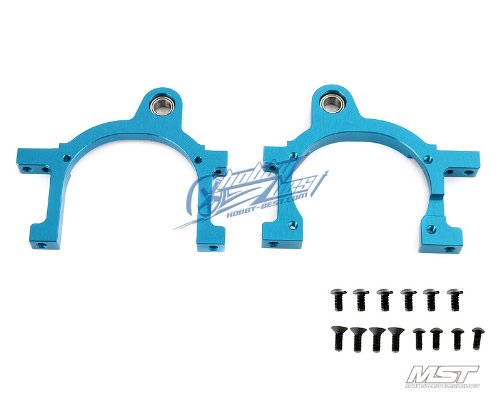 Mst Alum. Main Shaft Mount R/l (Blue)