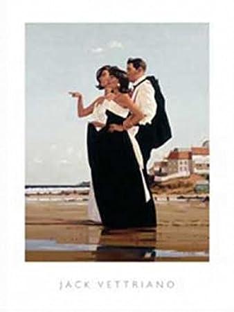1art1 44155 Jack Vettriano - Der Vermisste II a Poster Kunstdruck 50 ...