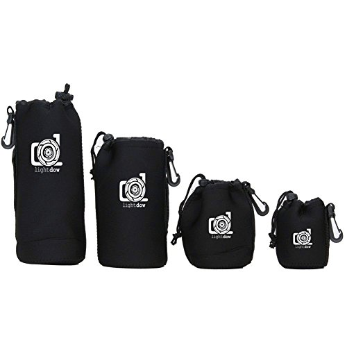 Lightdow 4pcs Pouch Thick Neoprene product image