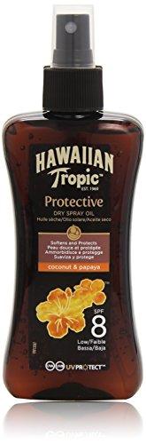 Hawaiian Tropic Protective Dry Spray Oil LSF 8, 1er Pack (1 x 200 ml)