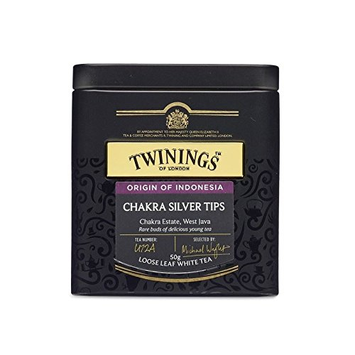 Twinings Chakra Silver Tips 50g - Caddy (Pack of 4)
