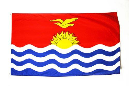 BANDERA de KIRIBATI 150x90cm - BANDERA KIRIBATIANA 90 x 150 cm - AZ FLAG