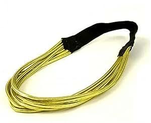 Dorado metálico electrosmart–Diadema Accesorios para el pelo