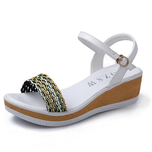 XZGC - Sandalias de Vestir Mujer blanco