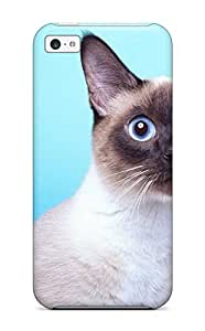 Everett L. Carrasquillo's Shop 6230358K14960218 For Iphone 5c Tpu Phone Case Cover(cat)