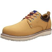 CAMEL CROWN Men's Uniform Work Boots Lightweight Work Shoes Casual Off-Road Cowboy