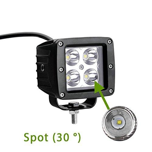 Jeelight LED Cube Lights, 3 2 Inch LED 20W Fog Lights LED Off