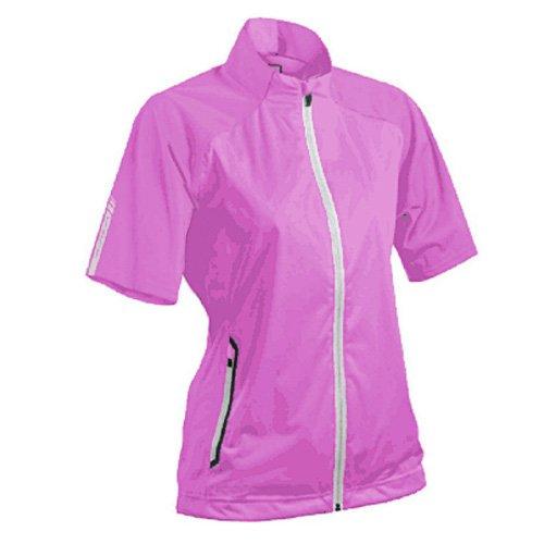 Sun Mountain 2017 Women's Rainflex, Short-Sleeve Jacket (Orchid-Titanium, Medium) ()