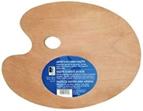 Wooden Palette 1175x1575 Oval