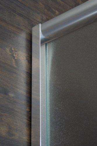 Box doccia angolare 75x75 con vetro opaco o trasparente disp. in ...