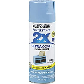 Rust-Oleum 314752 Painter's Touch 2X Ultra Cover, 12 oz, French Blue