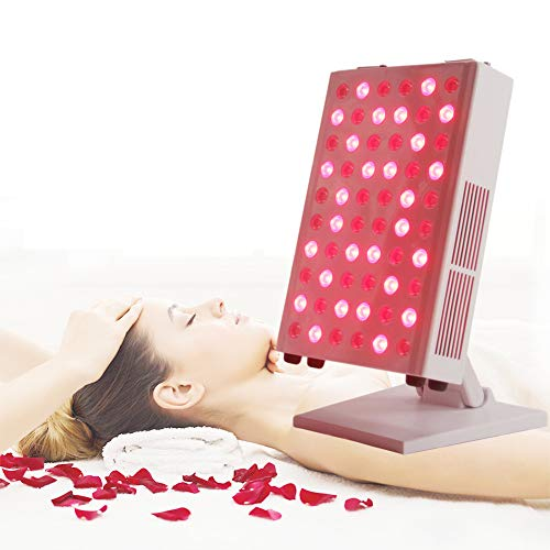 120W 660nm & 850nm Combo Infrared LED Light Therapy Panel, Intelligent Control Physiotherapy Lamp for Repair and Beauty