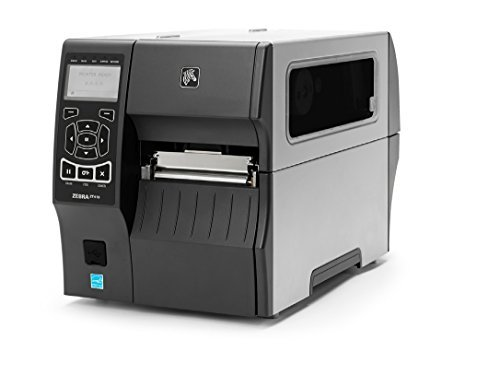 Zebra Technologies ZT41042-T110000Z Series ZT410 4'' DT/TT Tabletop Printer, 203 dpi Resolution, Tear Bar, Power Cord with US Plug, USB 2.0/RS-232 Serial/10/100 Ethernet, Bluetooth 2.1, EZPL, Peel by Zebra Technologies