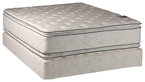 12' Mattress (Dream Solutions USA Brand Fully Assembled Double Sided Pillowtop Very Comfy, King Set, 12'')