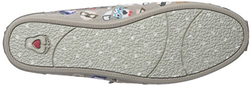 Skechers Bob Da Womens Peluche-wag Party Flat Taupe Pup