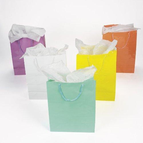 Large Pastel Gift Bags (1 dz)