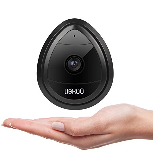 Wireless Security Camera, UOKOO 720P Home WiFi Wireless Security Surveillance IP Camera with Motion Detection Email Alert/Remote Monitoring, Wireless Camera, Nanny Cam(black)