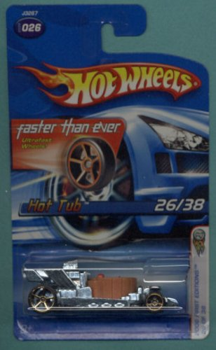 Mattel Hot Wheels 2006 First Editions 1:64 Scale Brown Hot Tub Die Cast Car #026