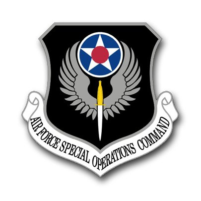US Air Force Special Operations Command Vinyl Transfer Decal Military Veteran Served Window Bumper Sticker Vinyl Decal 3.8