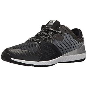 adidas Performance Women's Crazytrain Pro W Cross Trainer, Black/Metallic Silver/Black, 5.5 Medium US