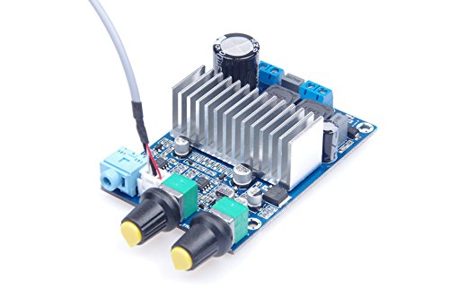 KNACRO TPA3116 Digital Power Amplifier Board Subwoofer Amplifier Board DC 12-24V by KNACRO