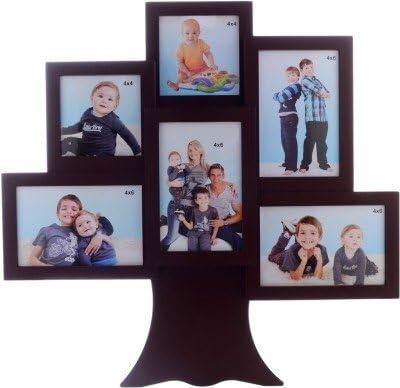 JaipurCrafts Glass Photo Frame (Photo Size - 15 x 10 cm, 13 x 18 cm, 6 Photos) Photo Frames at amazon