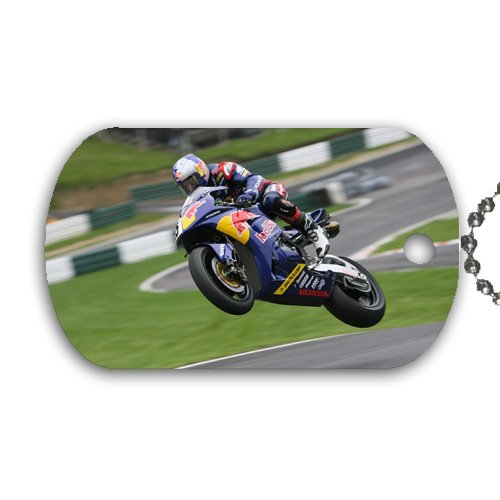 Motorcycle Dog Tag with 30