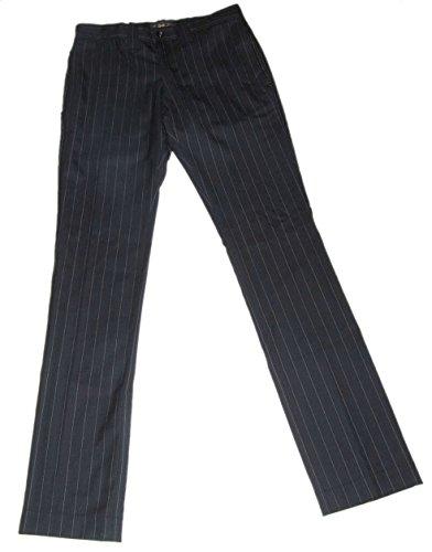 Polo Ralph Lauren RRL Men Wool Pinstripe Black Pants 30 (Pant Pinstripe Suit Wool)