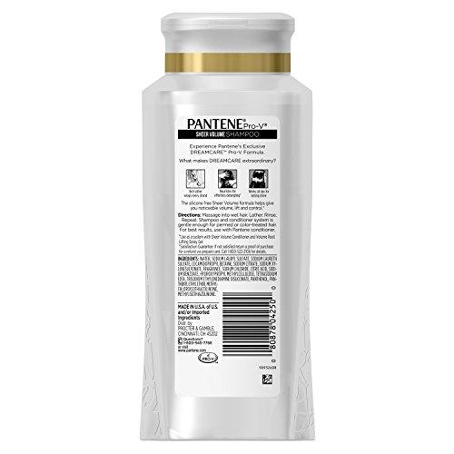 080878042500 - Pantene Pro-V  Sheer  Volume Shampoo, 25.4 Fluid Ounce (Pack of 3) (packaging may vary) carousel main 1