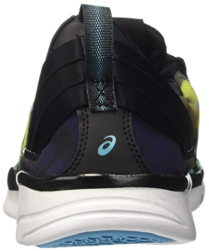Neon de Gel para Lime Aquarium Gimnasia Black Mujer Multicolor Asics Zapatillas Fit 2 Sana gRBUqU