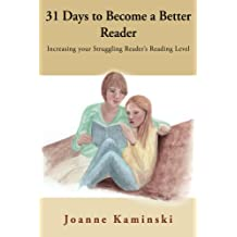 31 Days to Become a Better Reader: Increasing your Struggling Reader's Reading Level