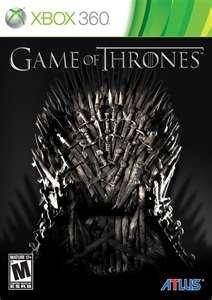 Game Thrones Xbox 360