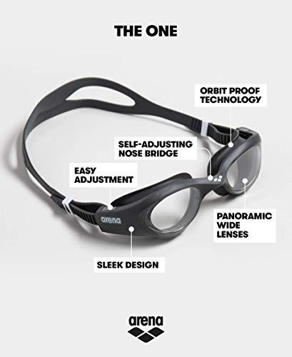 41JlmaBUXsL Cómodas gafas de natación para entrenamiento con ajuste universal y sellado suave. Lentes duras con protección UV y película antivaho. Puente de nariz autoajustable, correa dividida, sin PVC