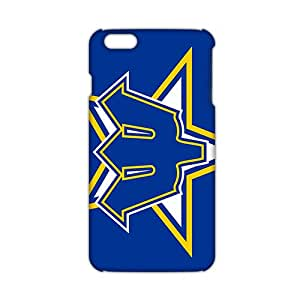 seattle mariners 3D Phone Case for iphone 6 plus