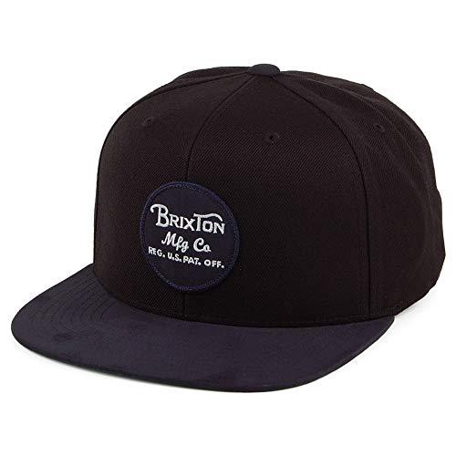 Brixton Men's Wheeler Medium Profile Snapback Hat