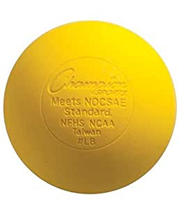 Lacrosse Balls - NCAA NFHS Certified - Yellow
