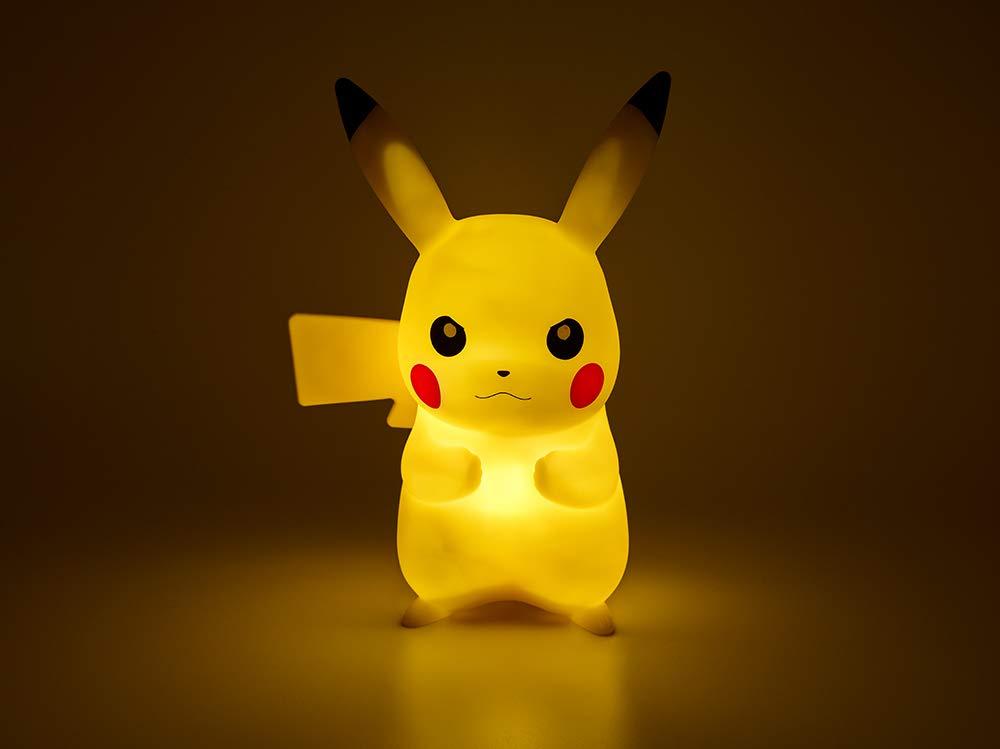 Pokemon Pikachu LED lampada plastica Yellow 25 cm